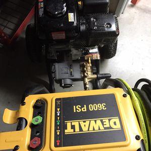 Dewalt 3600psi Pressure Washer for Sale in Encinitas, CA
