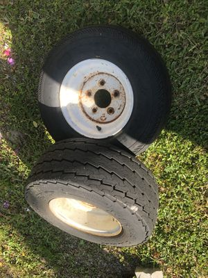 2 tires for trailer size 20 for Sale in Cape Coral, FL