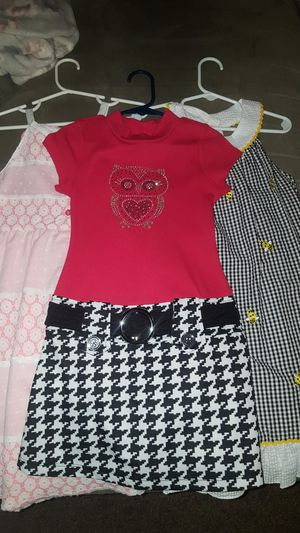 little girl dress lot size 5T @$10 each or $20 for all 3 for Sale in Fort Lauderdale, FL