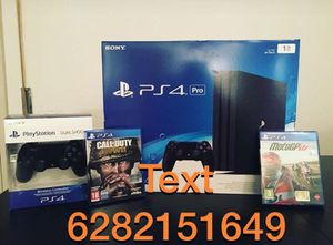Sony PlayStation 4 Pro 1tb with extra controller for Sale in Hialeah, FL