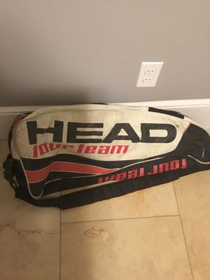 Double Racket Tennis racket bag/backpack for Sale in Worcester, MA