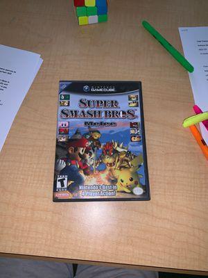 Smash Bros Melee w/ Manual + Memory Card for Sale in Sunnyvale, CA