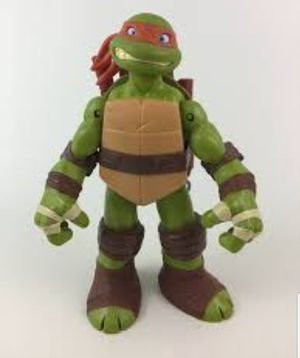 Teenage Mutant Ninja Turtles Battle Shell Mikey Figure Playmates for Sale in Fresno, CA