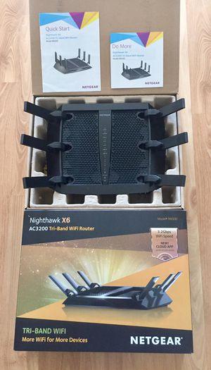 Netgear Nighthawk X6 R8000 Router for Sale in Irvine, CA