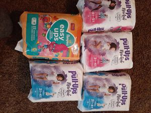 Huggies pull-ups & Pampers easy ups for Sale in Everett, WA