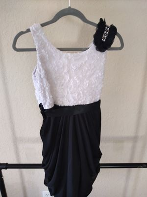 Rare Editions Black & White size 16 Girls Dress for Sale in Winter Haven, FL