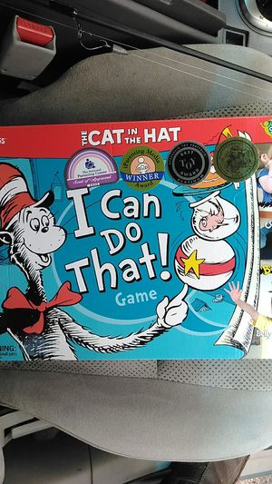 Cat in the hat kids game for Sale in Tampa, FL