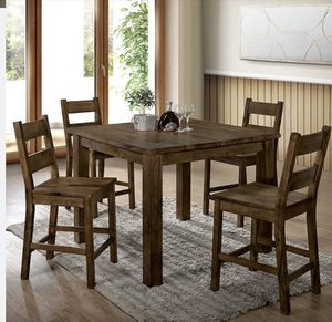 Rustic counter height dining set for Sale in Montclair, CA