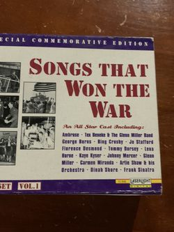 Songs that won the war- Vol 1 (Limited Edition) for Sale in Southbury,  CT