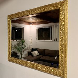 Beautiful Hand Painted Gold Mirror for Sale in Berkeley, CA