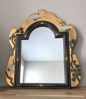 "Antique Chinese dresser mirror 18.5""L,22""H for Sale in Spanish Flat, CA"