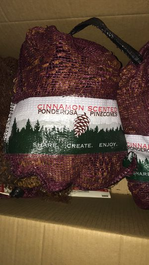 Cinnamon scented pine cones for Sale in Parma Heights, OH