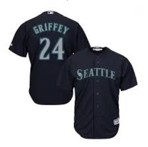 """Seattle Mariners Authentic Diamond Collection Baseball Jersey MLB Majestic Sz 50"""" for Sale in Everett, WA"""