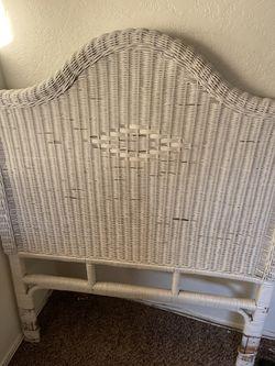 Wicker Bed Set for Sale in La Puente,  CA