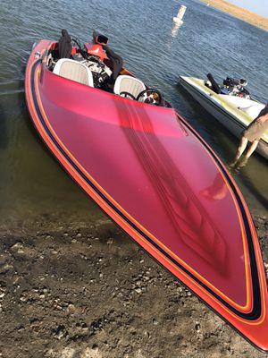1990 advantage bubble deck jet boat for Sale in Wildomar, CA