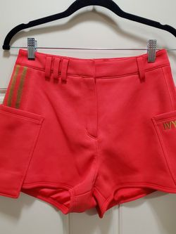 Adidas Ivy Park Coral Suit Shorts - Small for Sale in Bloomington,  IL