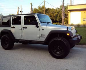 Fullyy a/c 07 Suv Jeep V6 4X4 $1800 Wrangler Unlimited for Sale in Fremont, CA