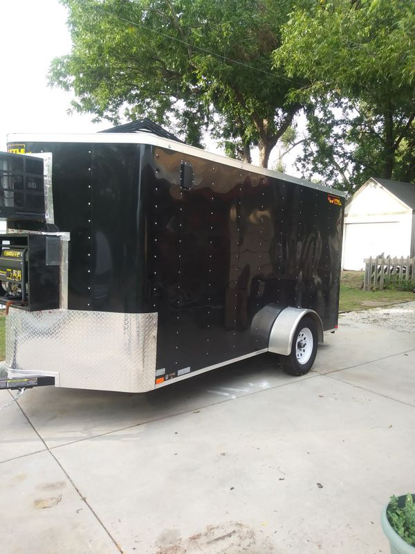 2018 refrigerated trailer/12×6/6 inch insulation/generator & air conditi1r , coolbot. Text {contact info removed}