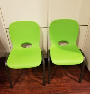 Lifetime kids chairs for Sale in Hillsboro, OR
