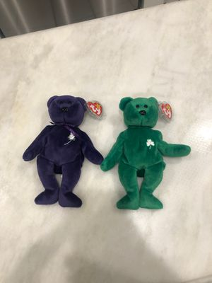 Erin and princess Diana beanie babies set for Sale in Phoenix, AZ