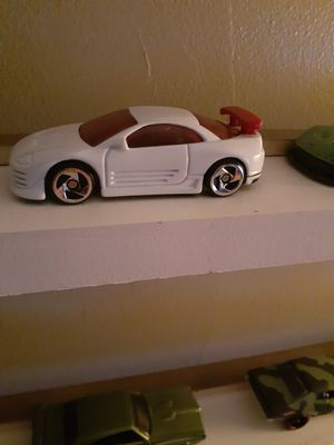 Vhtf.hotwheel Mitsubishi eclipse McDonald's promo car in good condition rolls as should.. for Sale in New Albany, IN