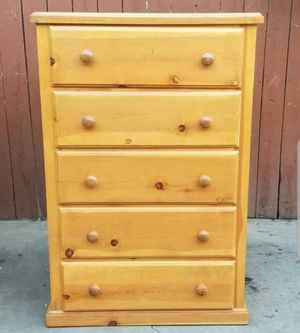 Solid wood dresser for Sale in CRYSTAL CITY, CA