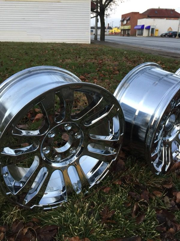 Chrome rims brand new,for ford,gmc and more pickup truck,suv ford,gmc and more