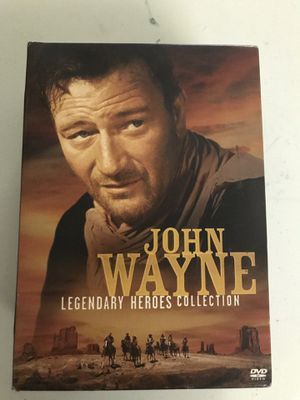 John Wayne dvd collection. for Sale in Hanover, PA