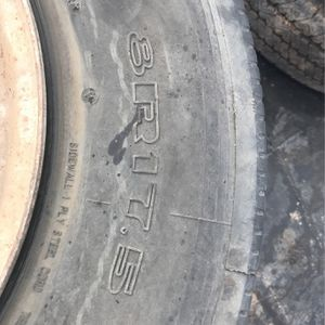 Motorhome wheels and tires Chrysler chassis 8-17.5 for Sale in Glendale, AZ