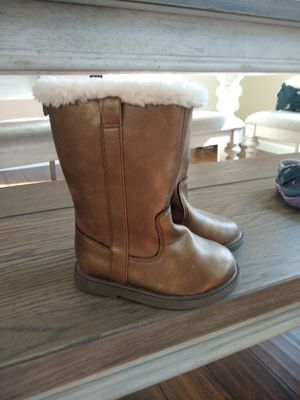 Carter's boots, size 7 toddler for Sale in Elk Grove, CA