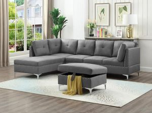 Brand new Sectional $699 ottoman $130 for Sale in Miami, FL
