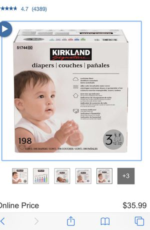 Diapers Size 1 for Sale in Pittsburg, CA