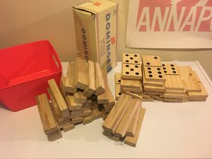 Kids Dominos and stacking blocks for Sale in Millersville, MD