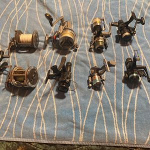 Shimano Daiwa Mitchell microlite and line Winder Fishing Reels for Sale in Garden Grove, CA