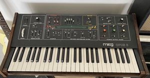 Vintage Moog Opus 3 Analogue Synthesizer! for Sale in Marina del Rey, CA