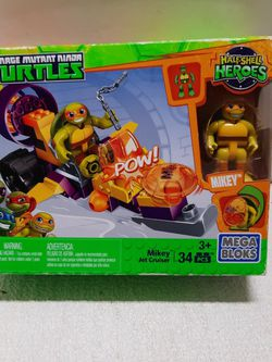 Mega Bloks Nina Turtle for Sale in Vernon,  CA