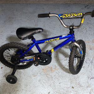 Magna Clutch Boys 14 Inch Blue Bike for Sale in Houston, TX
