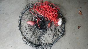 """Crab Net 32"""" /w Rope and Buoy for Sale in Diamond Bar, CA"""