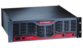 Crown, EV, Samson pro audio gear