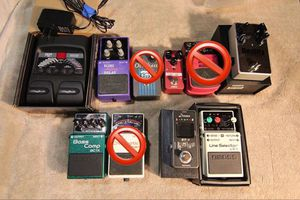 Guitar effects pedals (individual prices in descript.) for Sale in Woodway, WA
