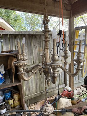Five candlelight chandelier for Sale in Houston, TX