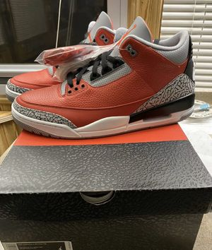 "Last Men's Size 7-15 Air Jordan 3 Retro ""Fire Red"" for Sale in Lake Worth, FL"
