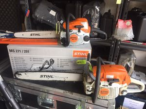"""Brand New Stihl Chainsaws In Stock! 16"""" 18"""" 20"""" and 25"""" for Sale in Hialeah, FL"""