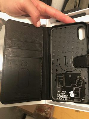 Brand new leather wallet case for iphone X with credit card slots and shockproof for Sale in Davie, FL
