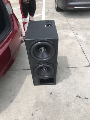 Pro box 12' audio pipe speakers for Sale in Stonecrest, GA