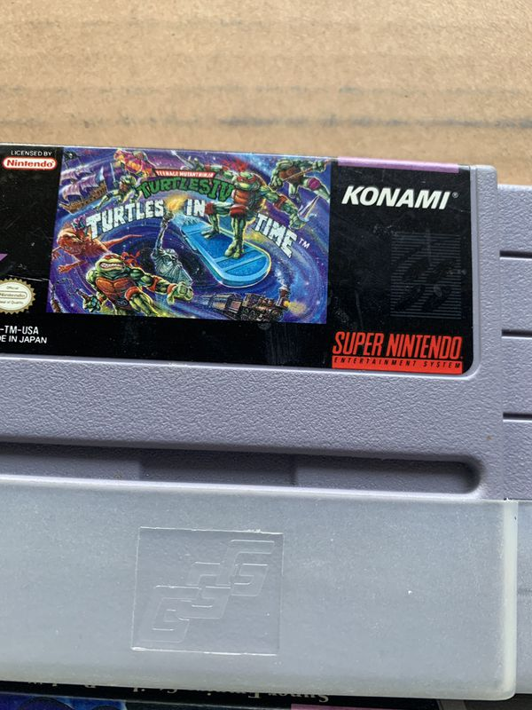 7 super Nintendo games