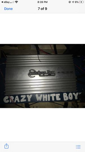 Amp for Sale in Columbus, OH