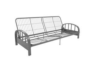 Gray metal futon frame for Sale in Gaithersburg, MD