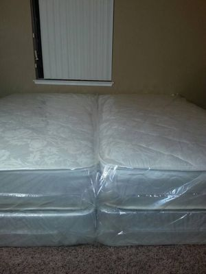 2 new twin mattress and box spring available. Delivery is available for Sale in Woodland, CA