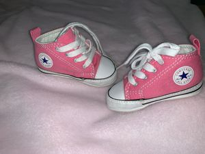Converse, baby shoe, crib shoe, 2c for Sale in Los Angeles, CA